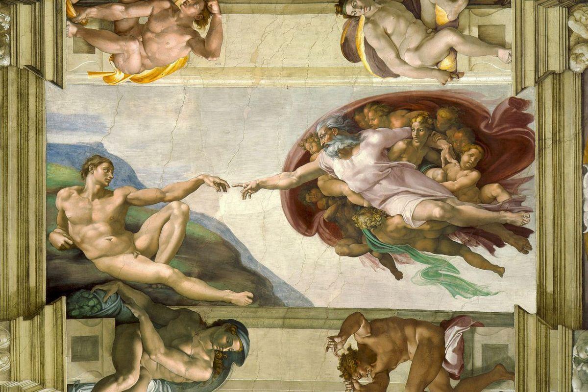LA CREAZIONE DI ADAMO: STORIE E CURIOSITA' SU UNA DELLE ICONE PIU'NOTE E CELEBRATE DELL'ARTE UNIVERSALE