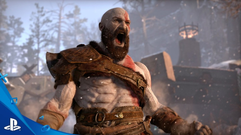 Kratos in God of War 4